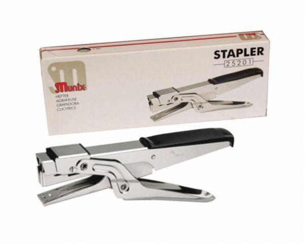Cây bấm kim tay cầm Munix Stapler 25201 | VPP Hữu Phát