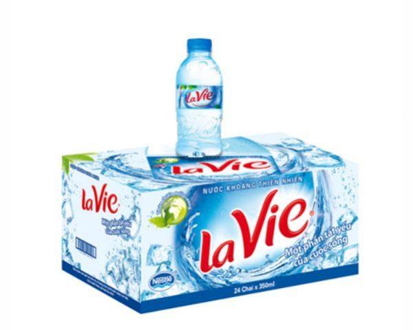 Nước suối Lavie 350ml | VPP Hữu Phát