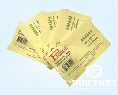 Giấy note Pronoti vàng 3x5 | VPP Hữu Phát