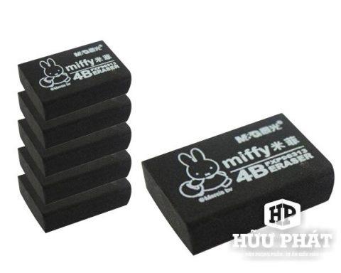 Gôm tẩy đen Miffy 4B | VPP Hữu Phát