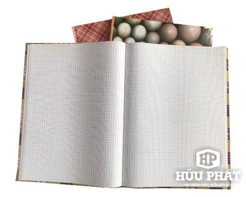 Sổ Caro bìa cứng các loại | Văn phòng phẩm Hữu Phát